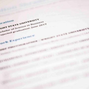 Making sure your resume is interview ready