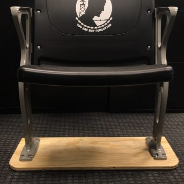 Chair reserved for veterans comes to WSU Nutter Center