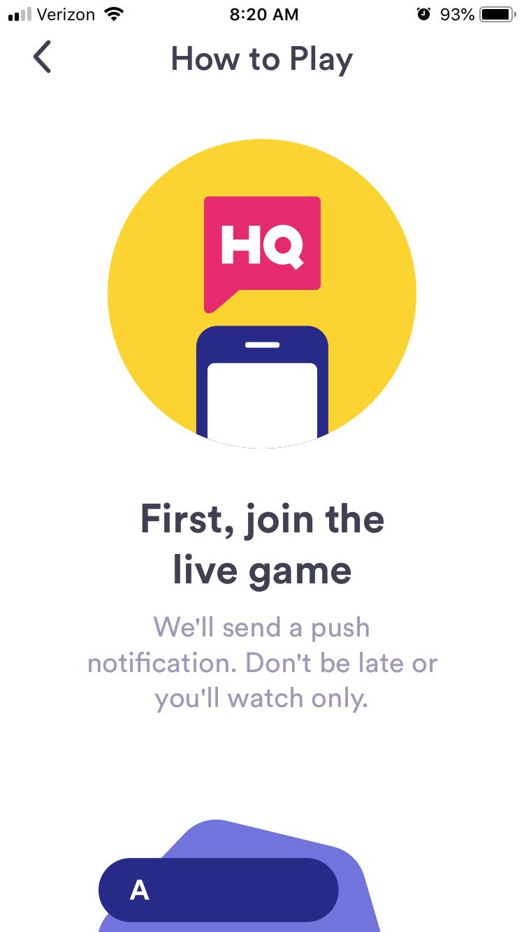 App Review: HQ Trivia