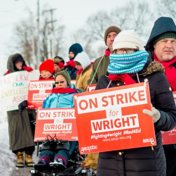 Wright State faculty on strike until further notice