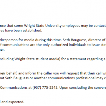WSU employees limited in their right to talk about potential strike