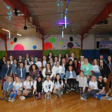 Alpha Xi Delta's Roller Disco fundraiser for Autism Speaks