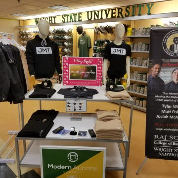 Student-run business partners with Wright State Bookstore