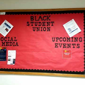 Black Student Union alleges organization's board was defaced