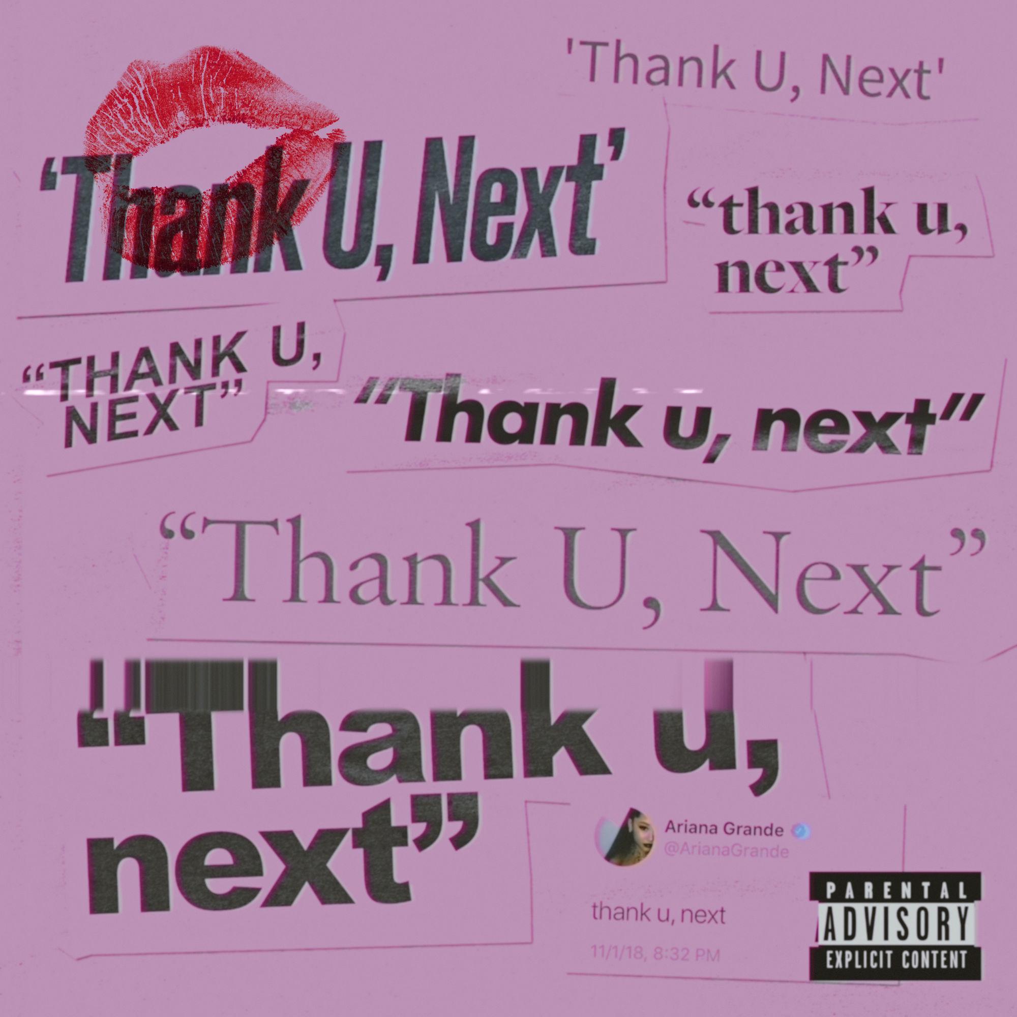 thank u, next album cover from arianagrande.fandom.com