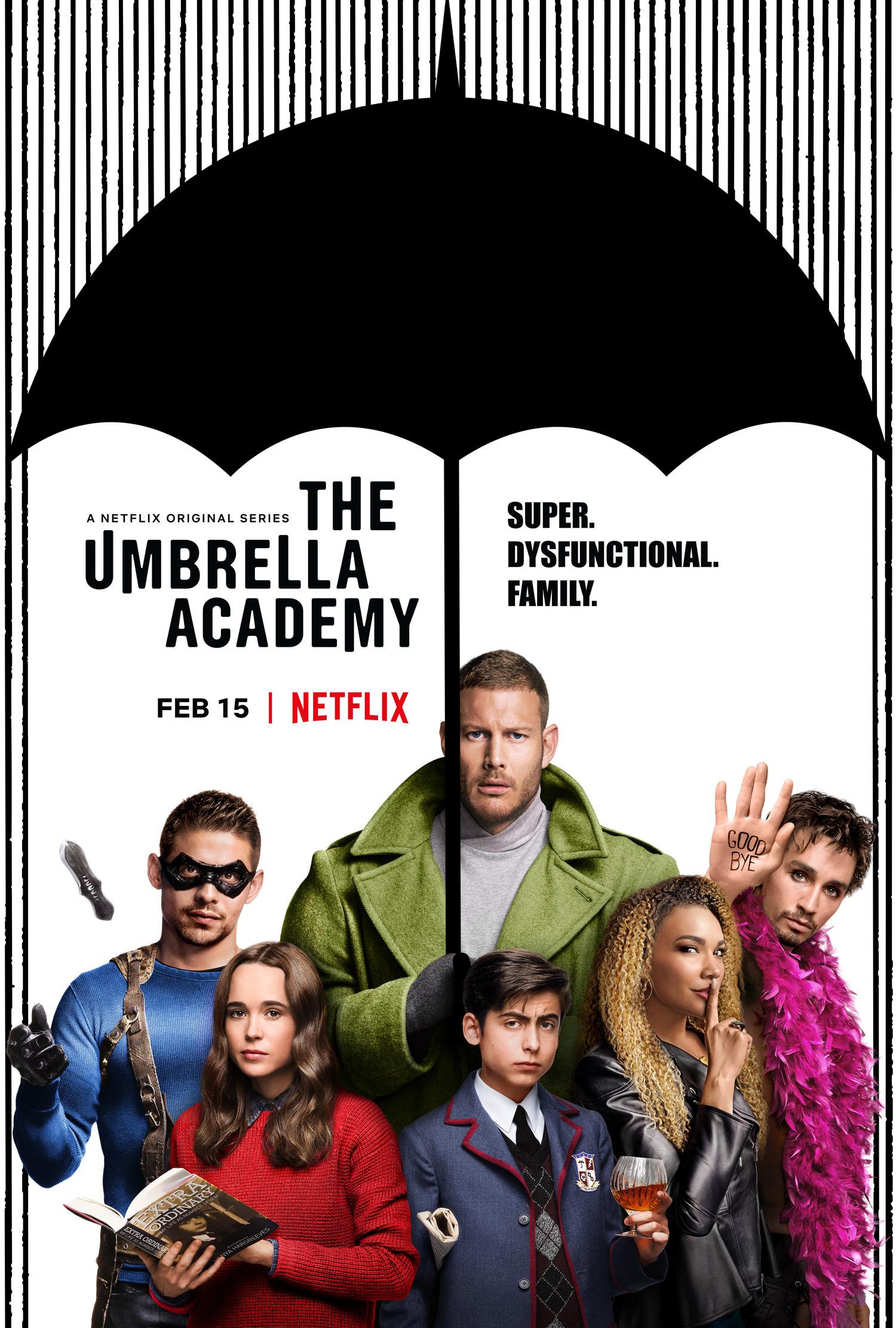 Netflix Review: The Umbrella Academy | Photograph: Media-Amazon
