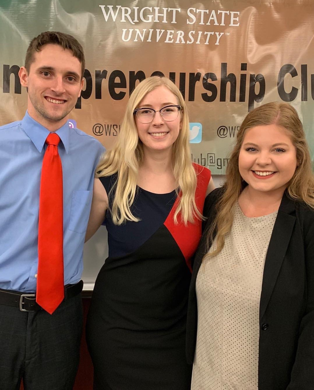 Group photo is courtesy of Sarah Marsh. Taken by Entrepreneurship Club.