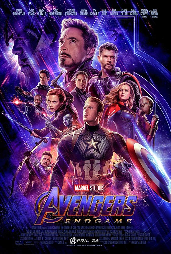 Avengers: Endgame movie poster from IMDb.