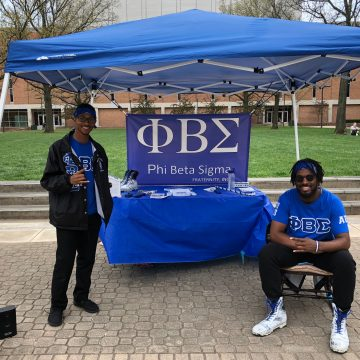 Phi Beta Sigma Fraternity hosts 24-hour Rockathon