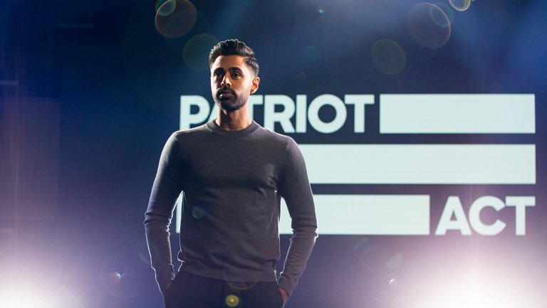 Netflix Review: The Patriot Act / Photograph hollywoodreporter.com