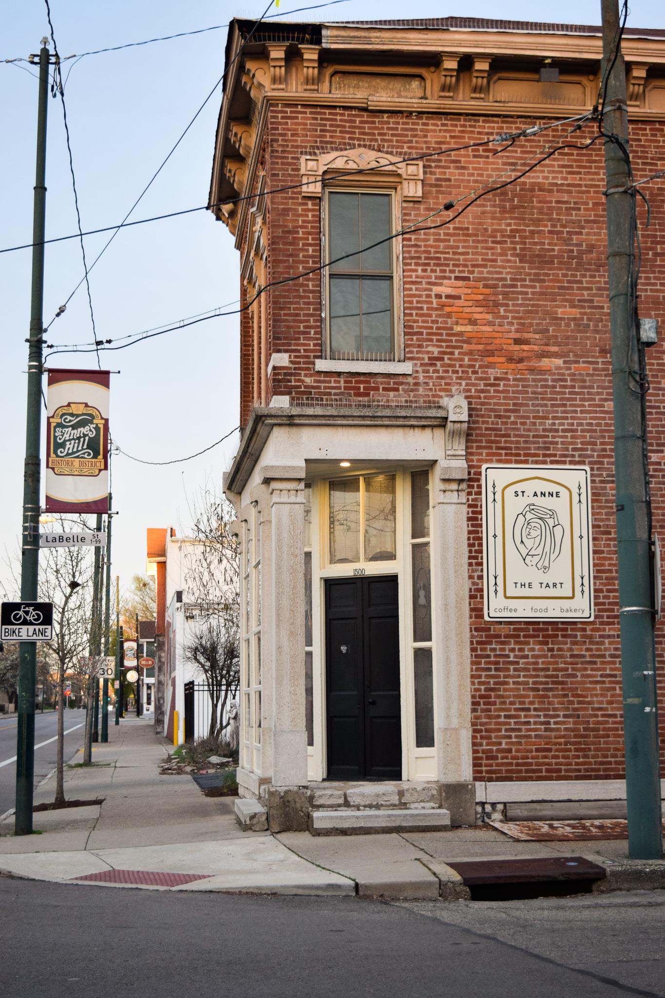 St Anne the Tart in Downtown Dayton / Photograph: Jessica Fugett