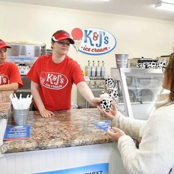 Dayton's Not Dead: K&J's Ice Cream Shop