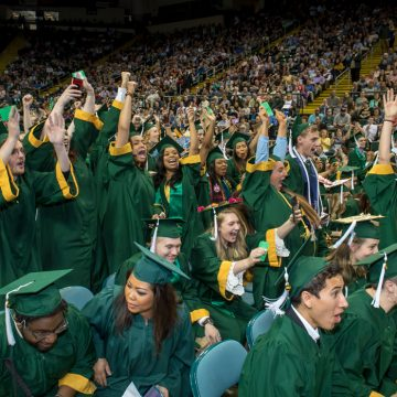 Wright State celebrates spring commencement