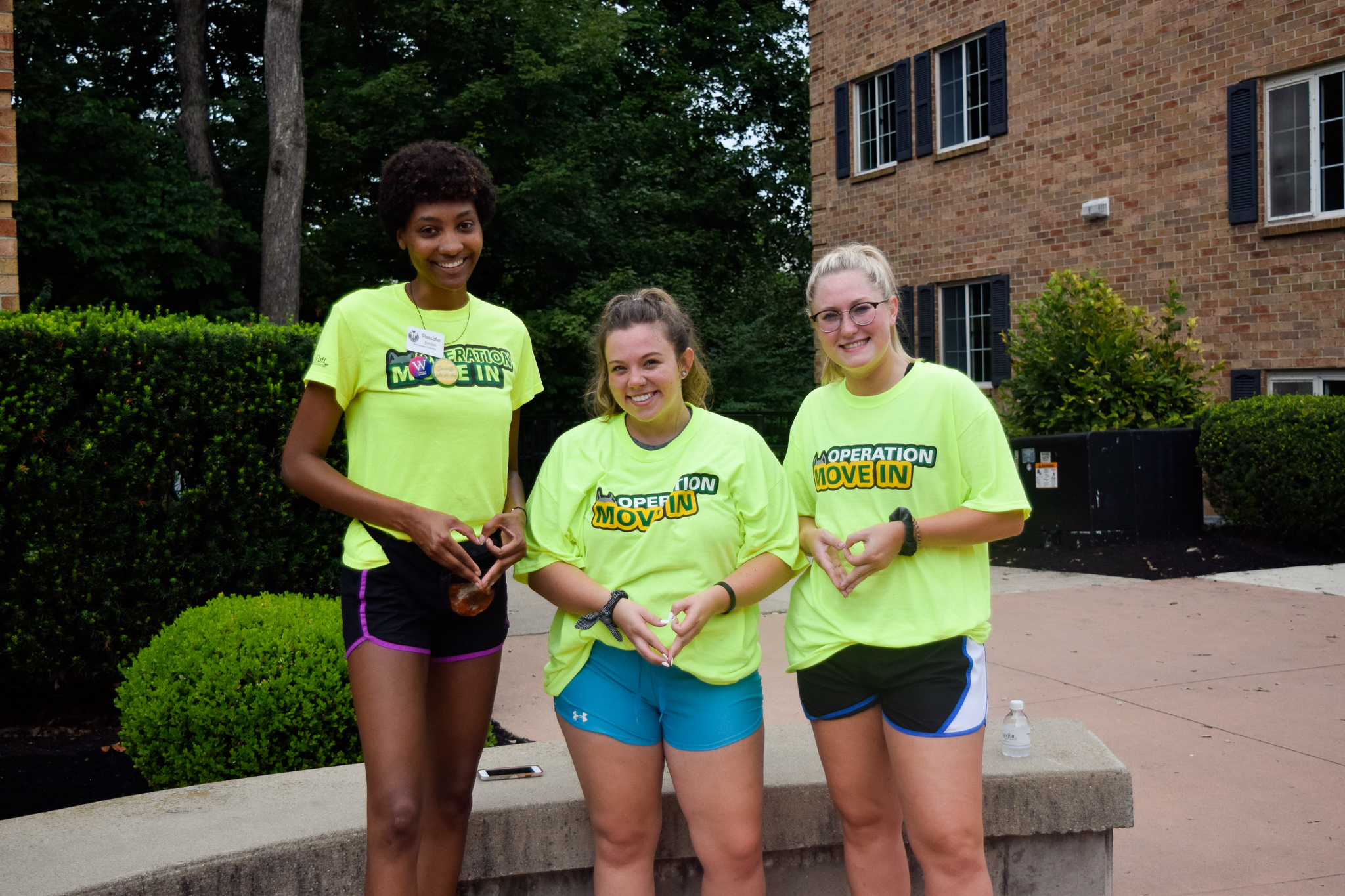 Move In Day for WSU students | Photo by Jessica Fugett | The Wright State Guardian