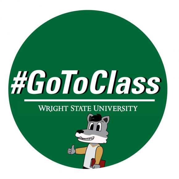 Go to Class campaign posted by Wright State