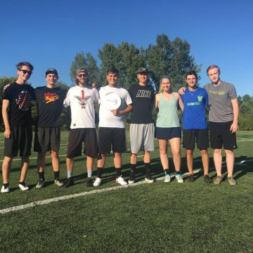 Ultimate frisbee takes over Wright State