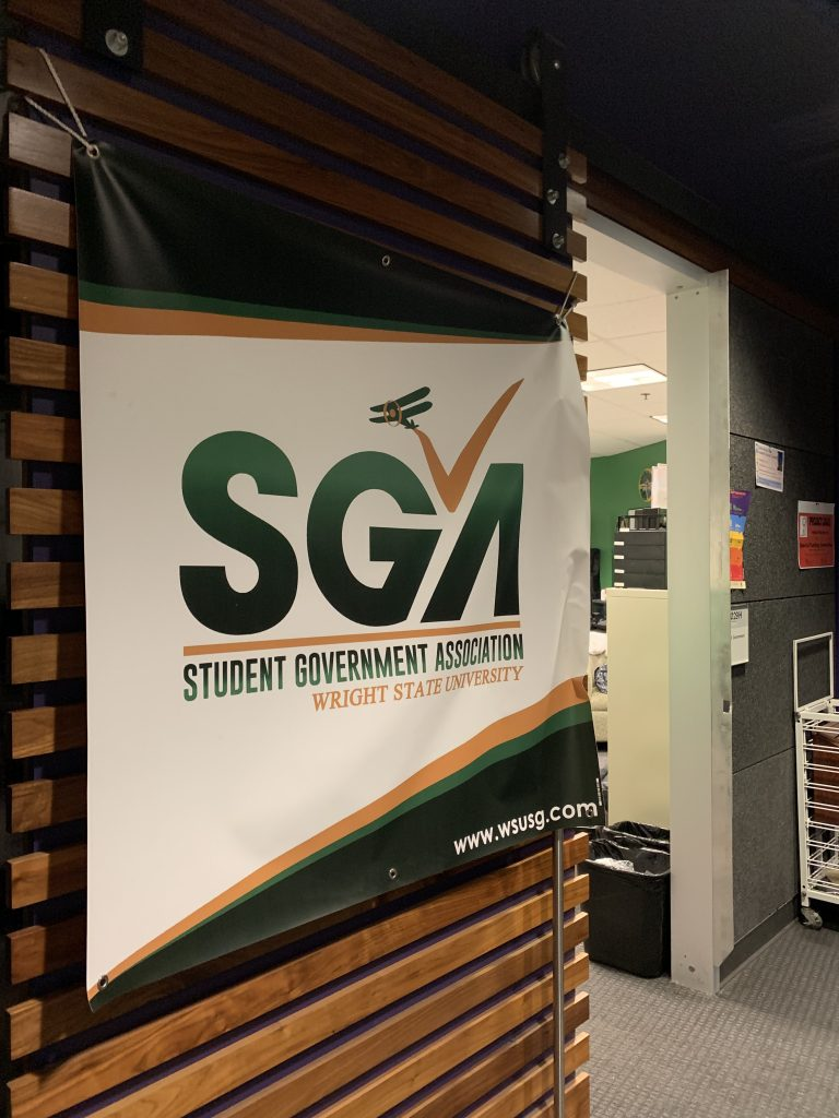 SGA holds weekly meeting | Photo by Sarah Cavender | The Wright State Guardian
