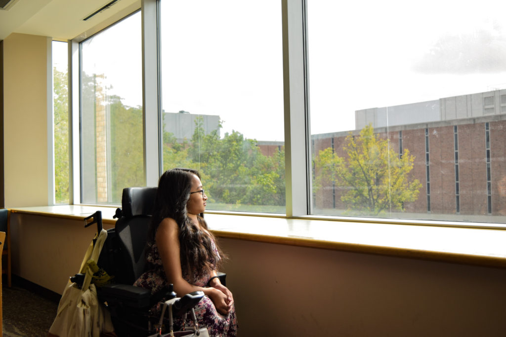 Rebekah Wyse | Photo by Jessica Fugett | The Wright State Guardian