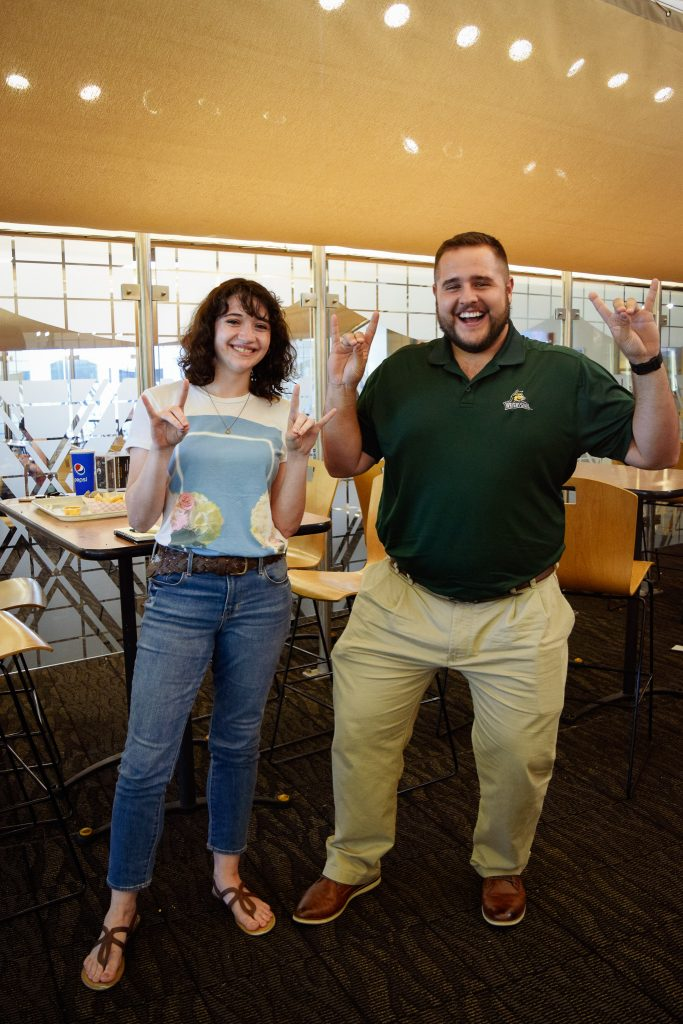 """Kari Giovanelli. Senior. My favorite thing about my outfit is... """"my band tee."""" 