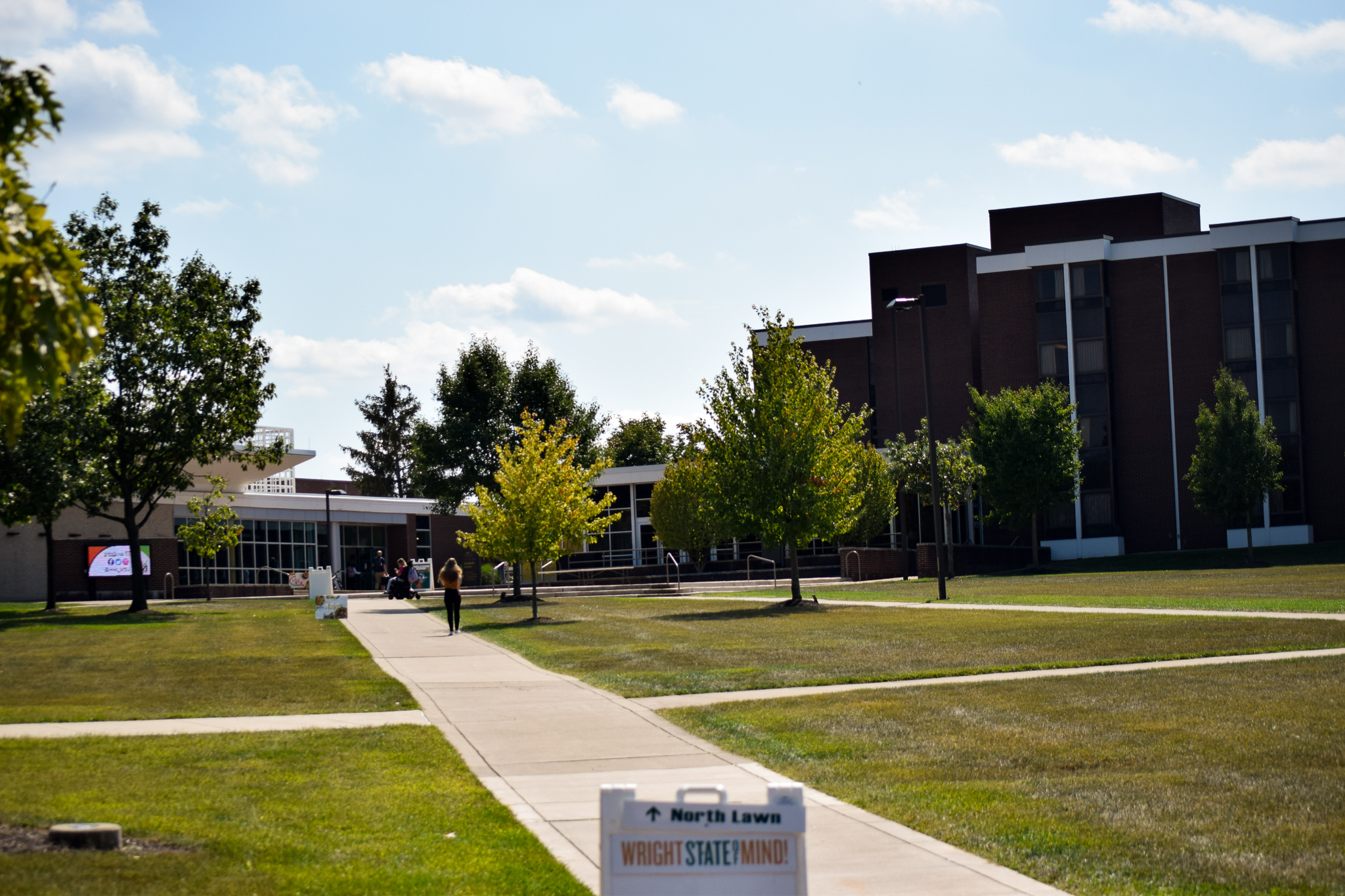 Student Union | Photo by Jessica Fugett | The Wright State Guardian