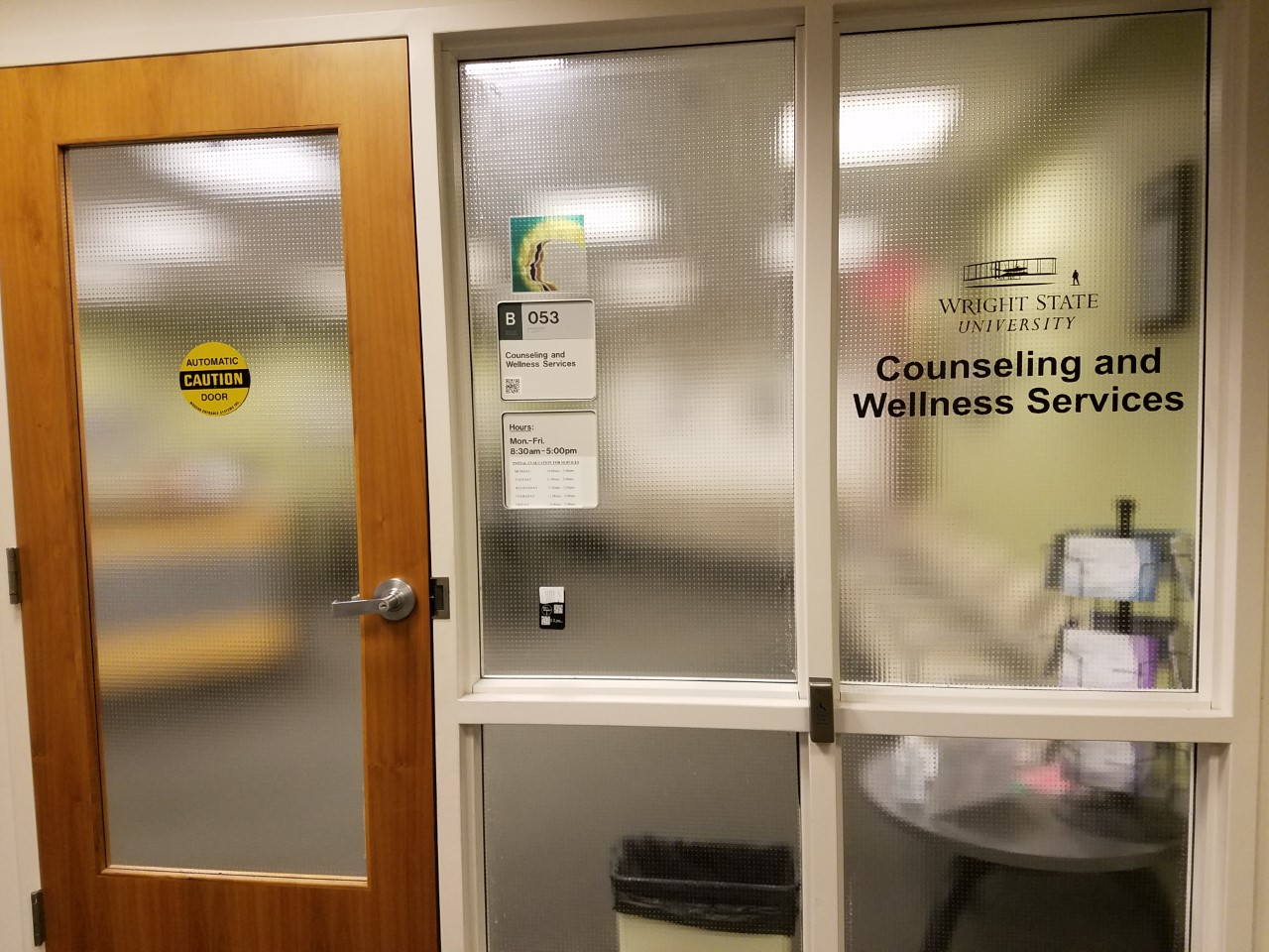 Counseling and Wellness Services | Photo by Jessica Fugett | The Wright State Guardian