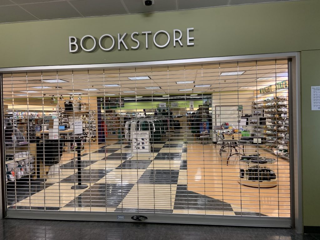 Wright State University Bookstore | Photo by Natalie Cunningham | The Wright State Guardian