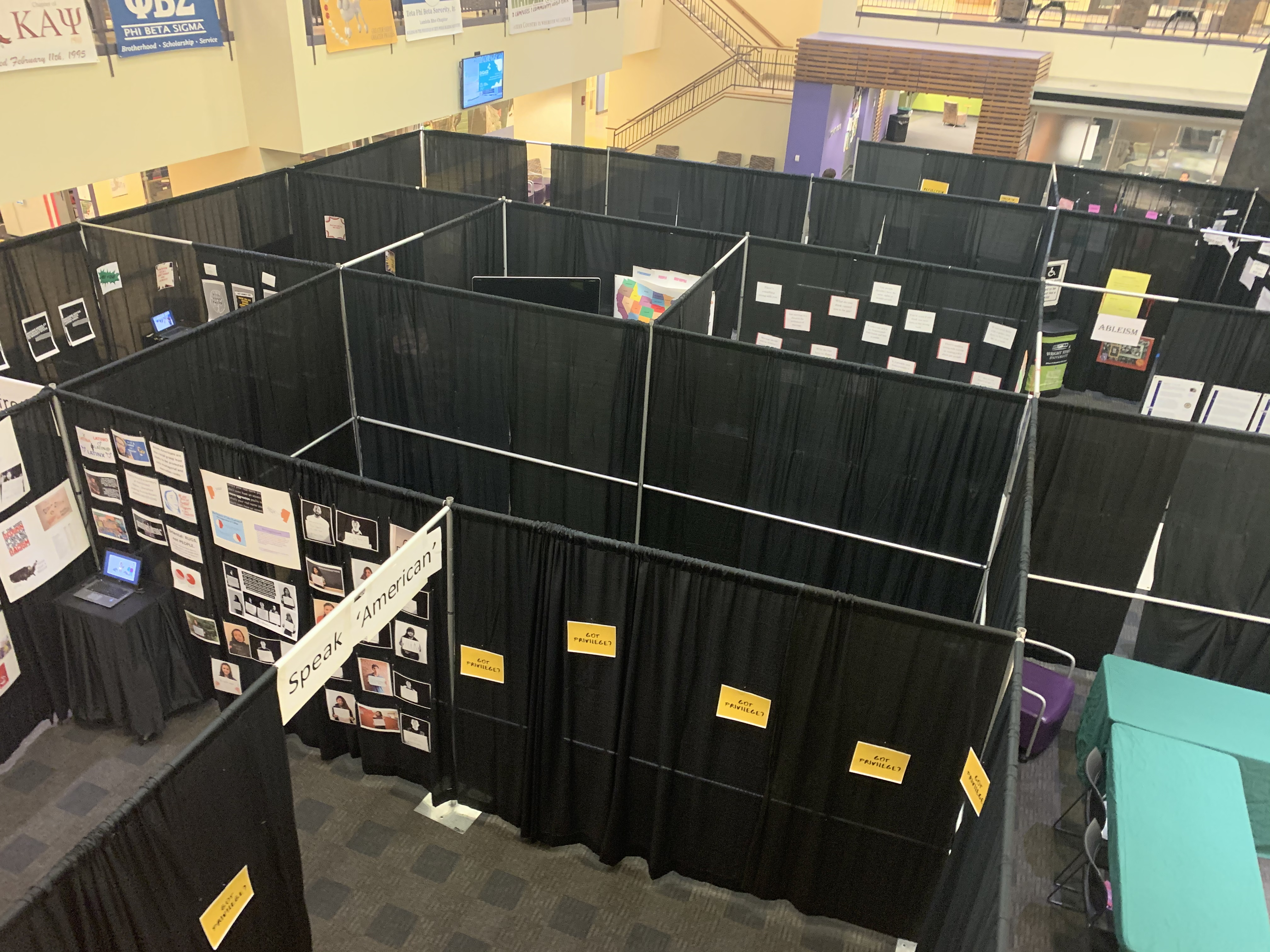 Tunnel of Oppression in the Student Union