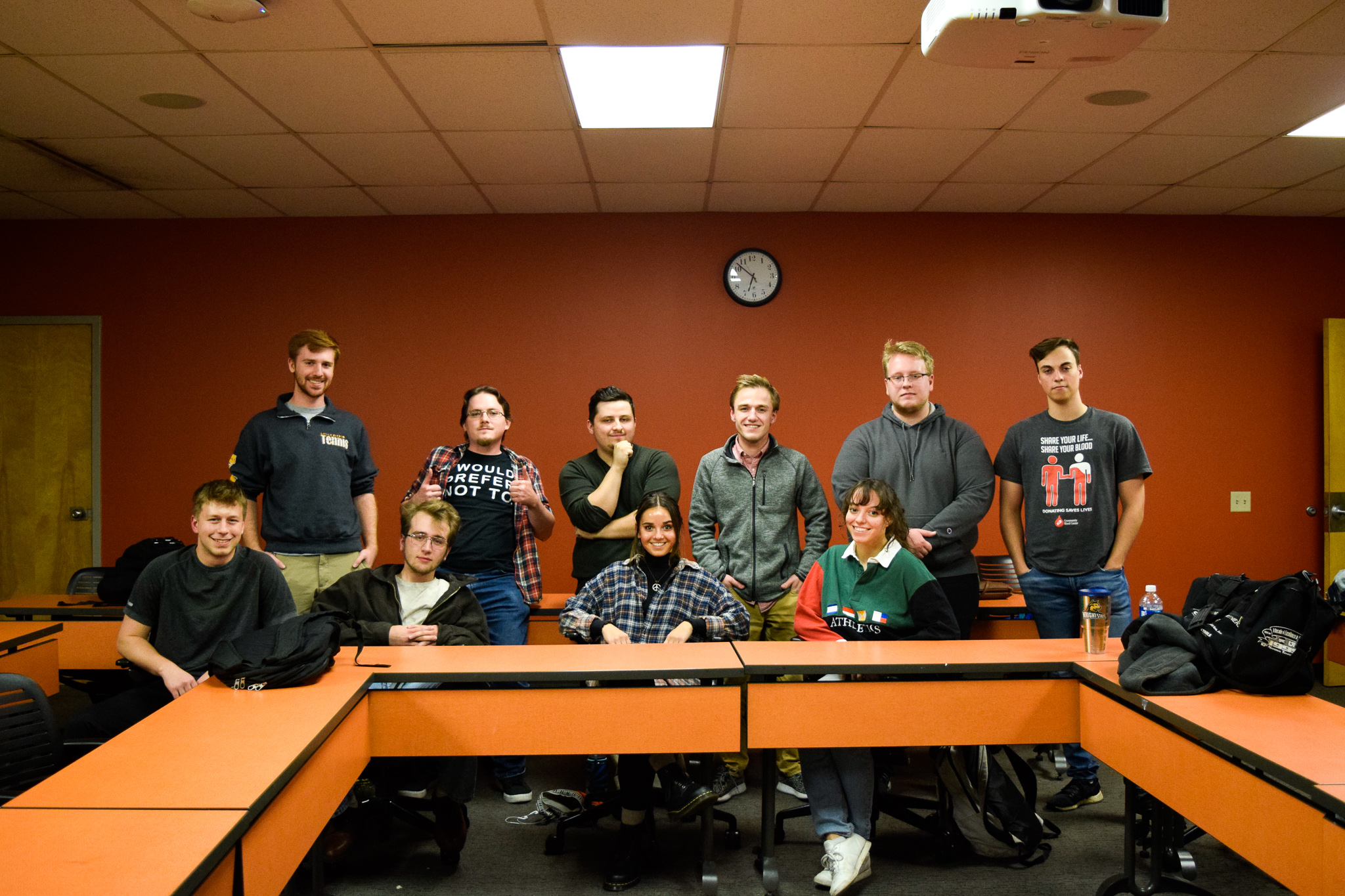 Philosophy Club | Photo by Jessica Fugett | The Wright State Guardian