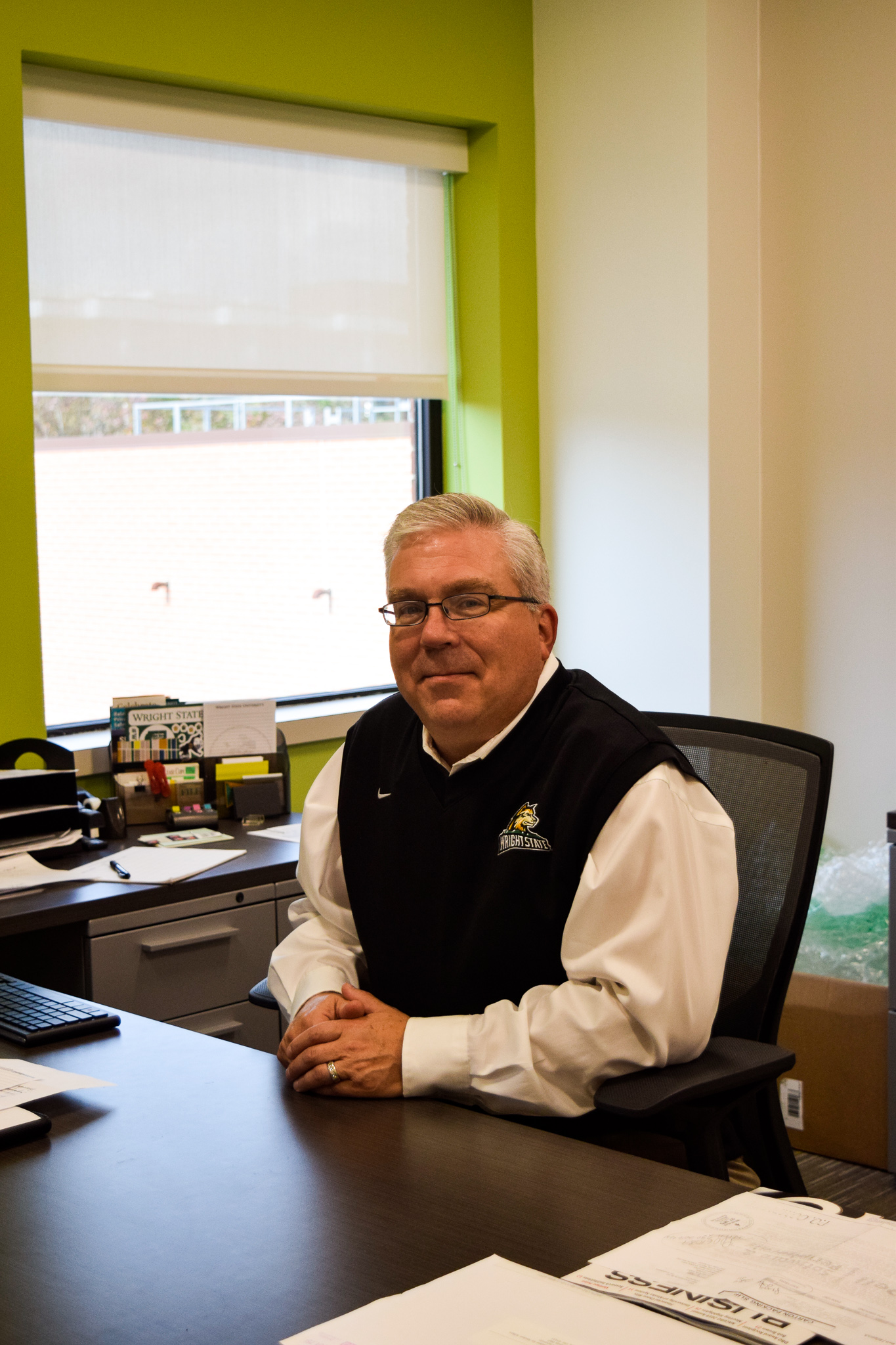 Gary Dickstein | Photo by Jessica Fugett | The Wright State Guardian