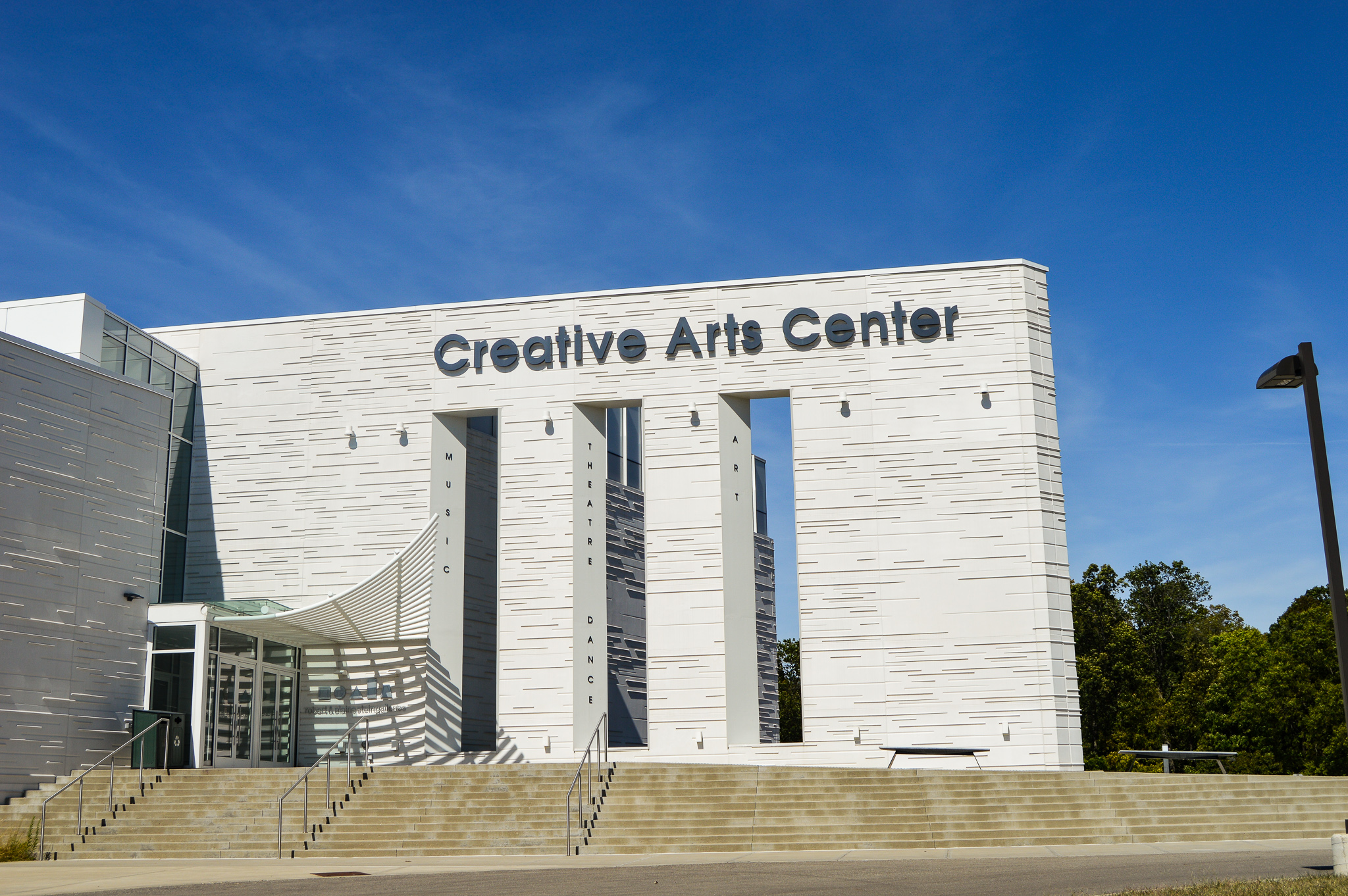 Creative Arts Center | Photo by Cheyenne Waddell | Edited by Jessica Fugett | The Wright State Guardian
