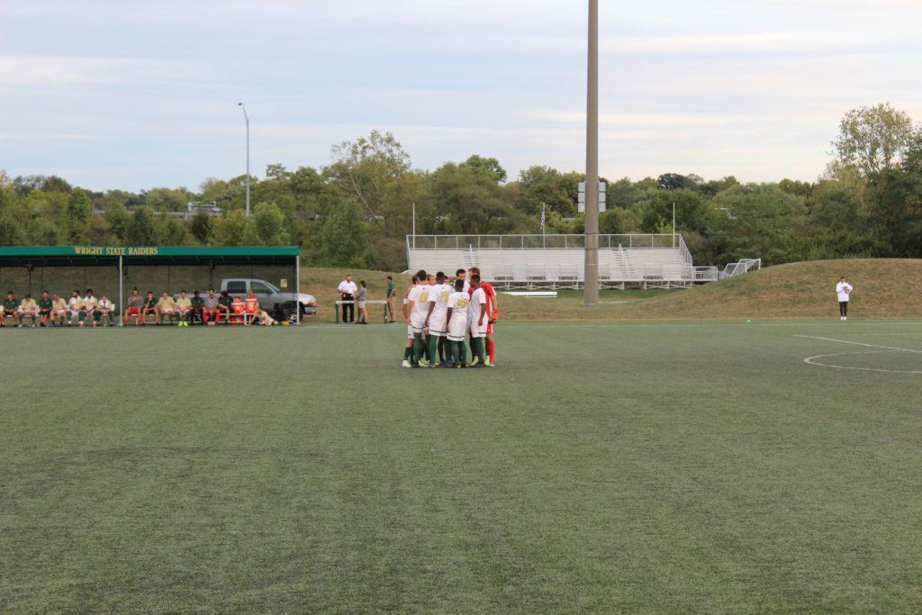 Men's Soccer Team | Photo by Daniel Delgado | The Wright State Guardian