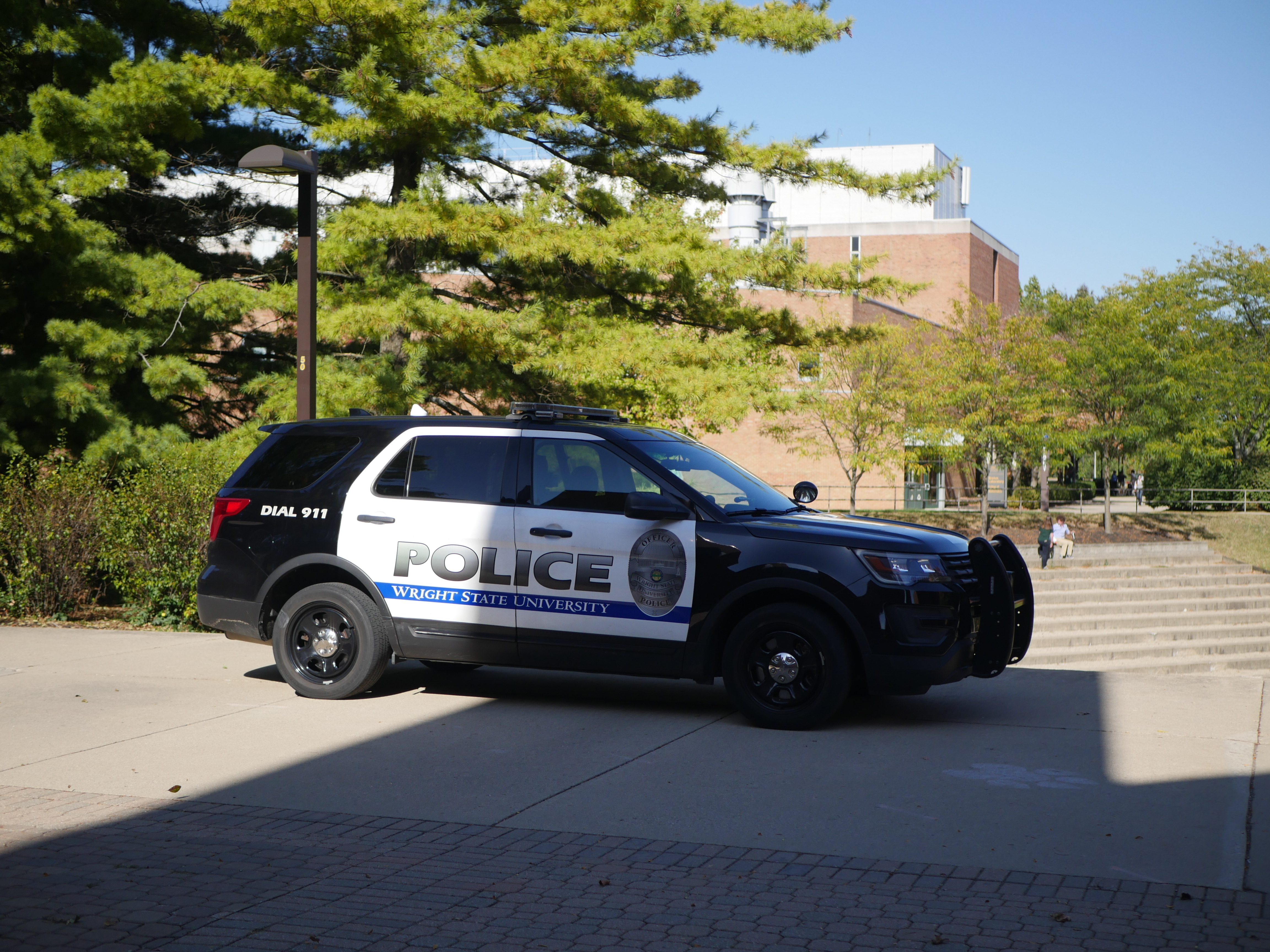 WSU Campus Police | Photo by Jamie Penwell | The Wright State Guardian