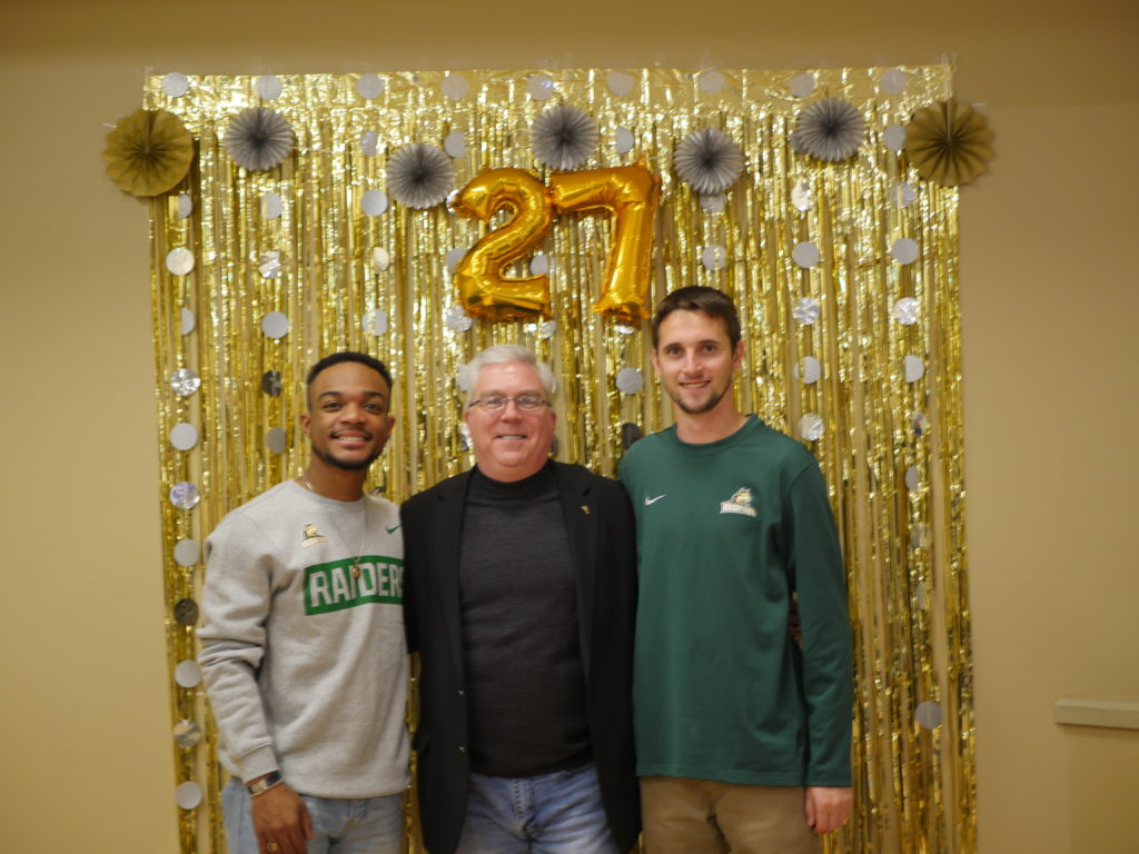 Gary Dickstein farewell party | Photo by Sarah Cavender | The Wright State Guardian