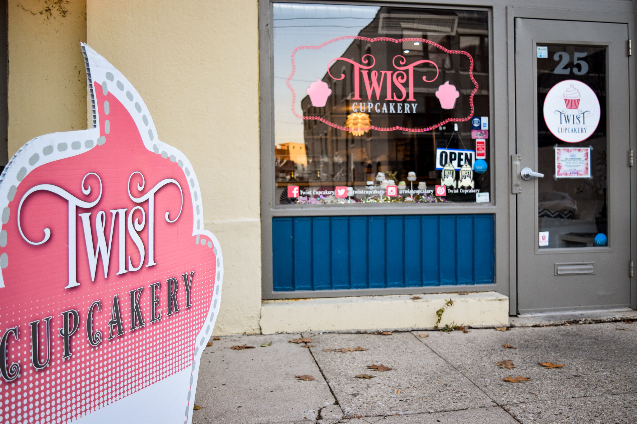 Twist Cupcakery | Photo by Jessica Fugett | The Wright State Guardian