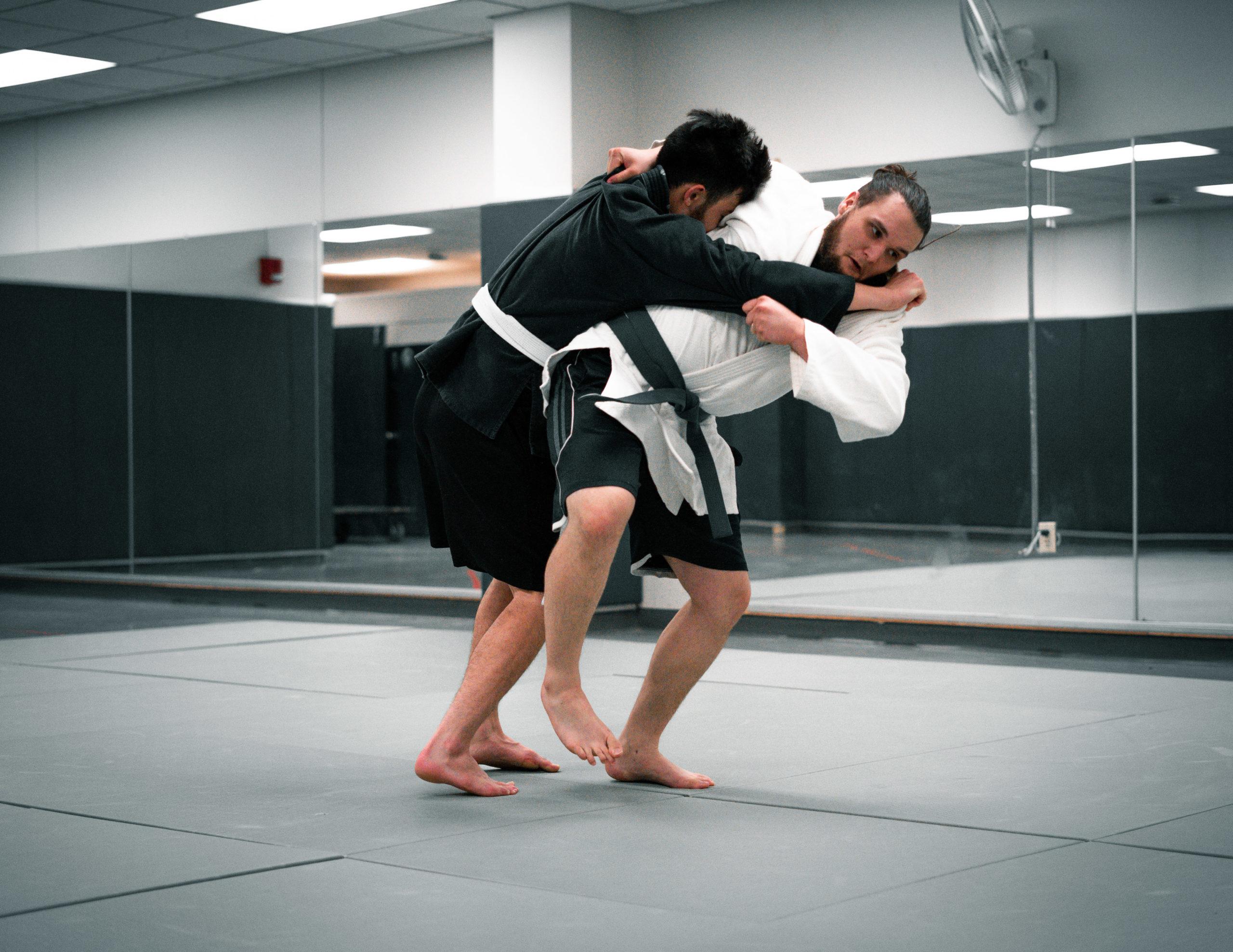 MMA Club | Photo by Soham Parikh | The Wright State Guardian