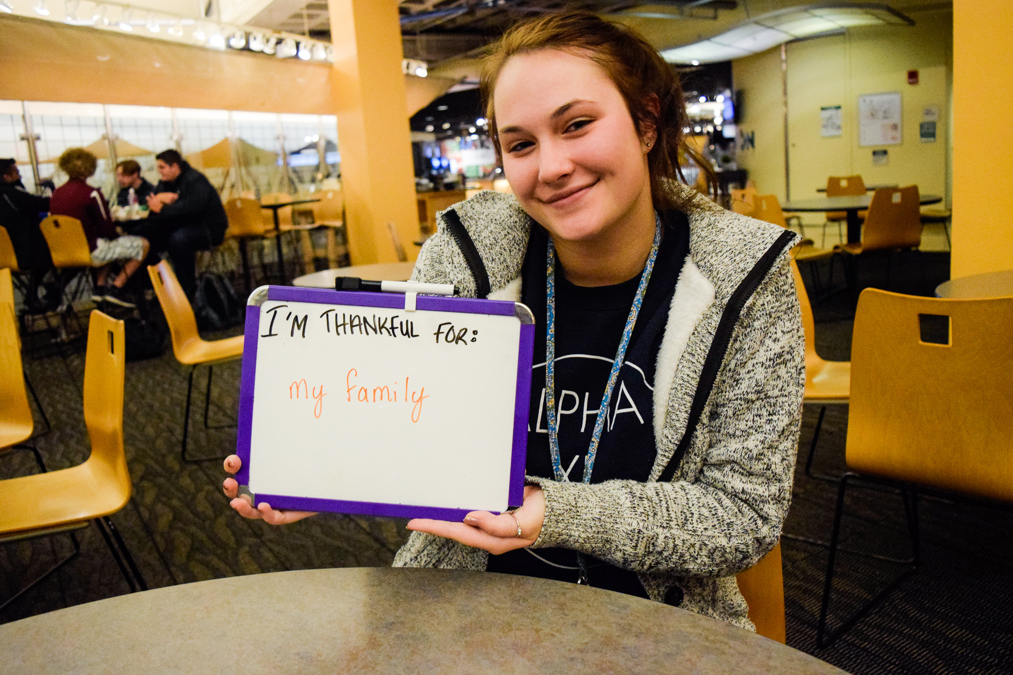 Katie Peter   Photo by Jessica Fugett   The Wright State Guardian