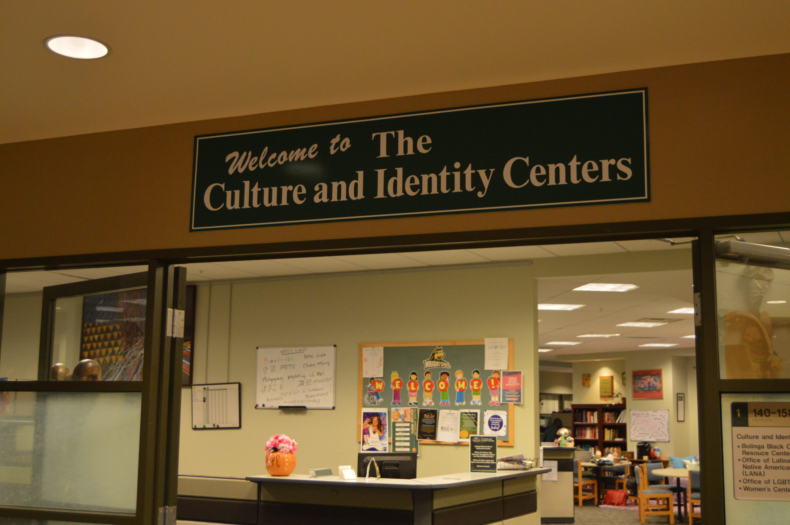 Culture and Identity Center | Photo by Cheyenne Waddell | The Wright State Guardian