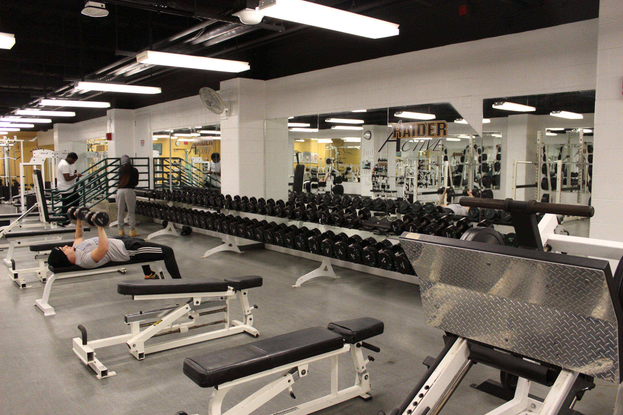 Nutter Center Gym | Photo by Daniel Delgado | The Wright State Guardian