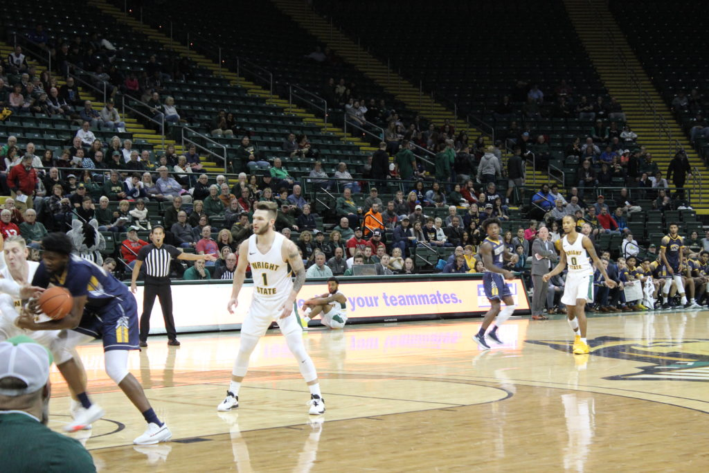 WSU vs. Kent State | Photo by Daniel Delgado | The Wright State Guardian