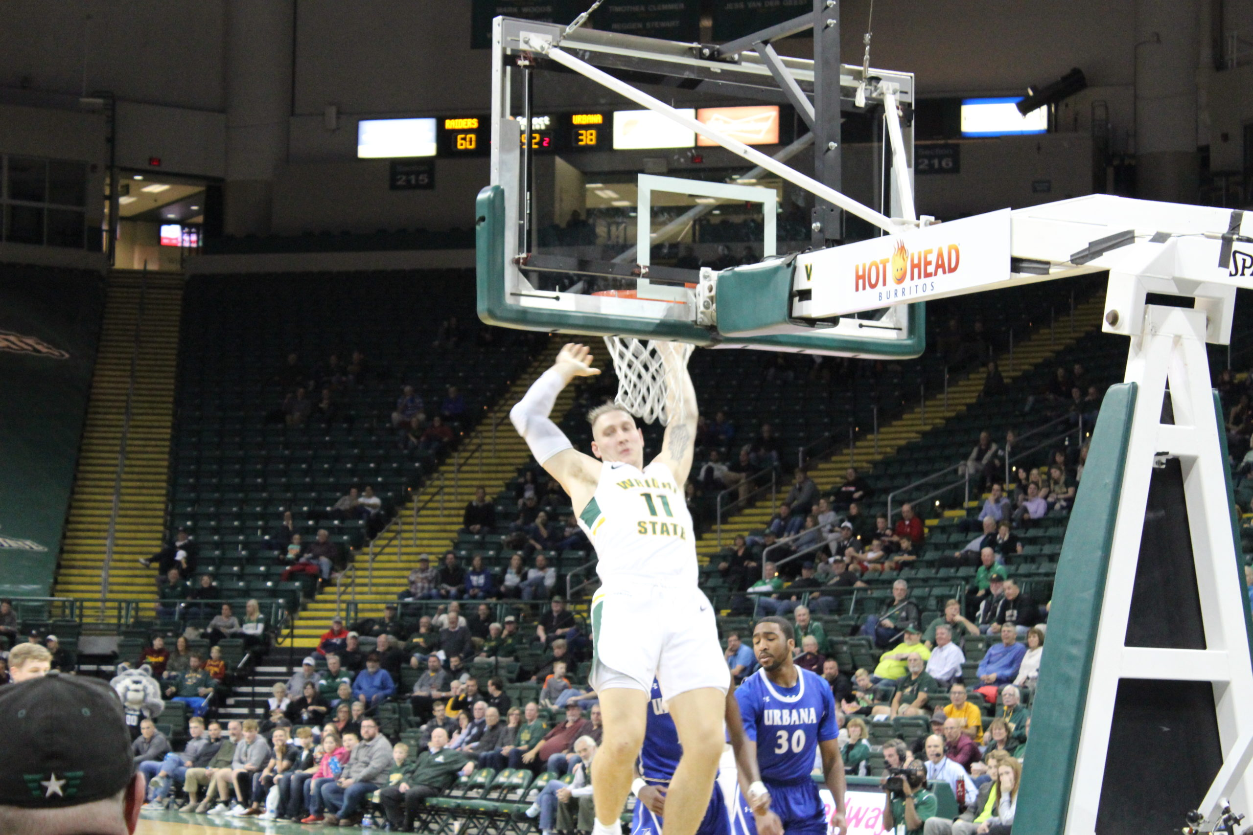 WSU vs. Urbana Mens Basketball | Photo by Daniel Delgado | The Wright State Guardian