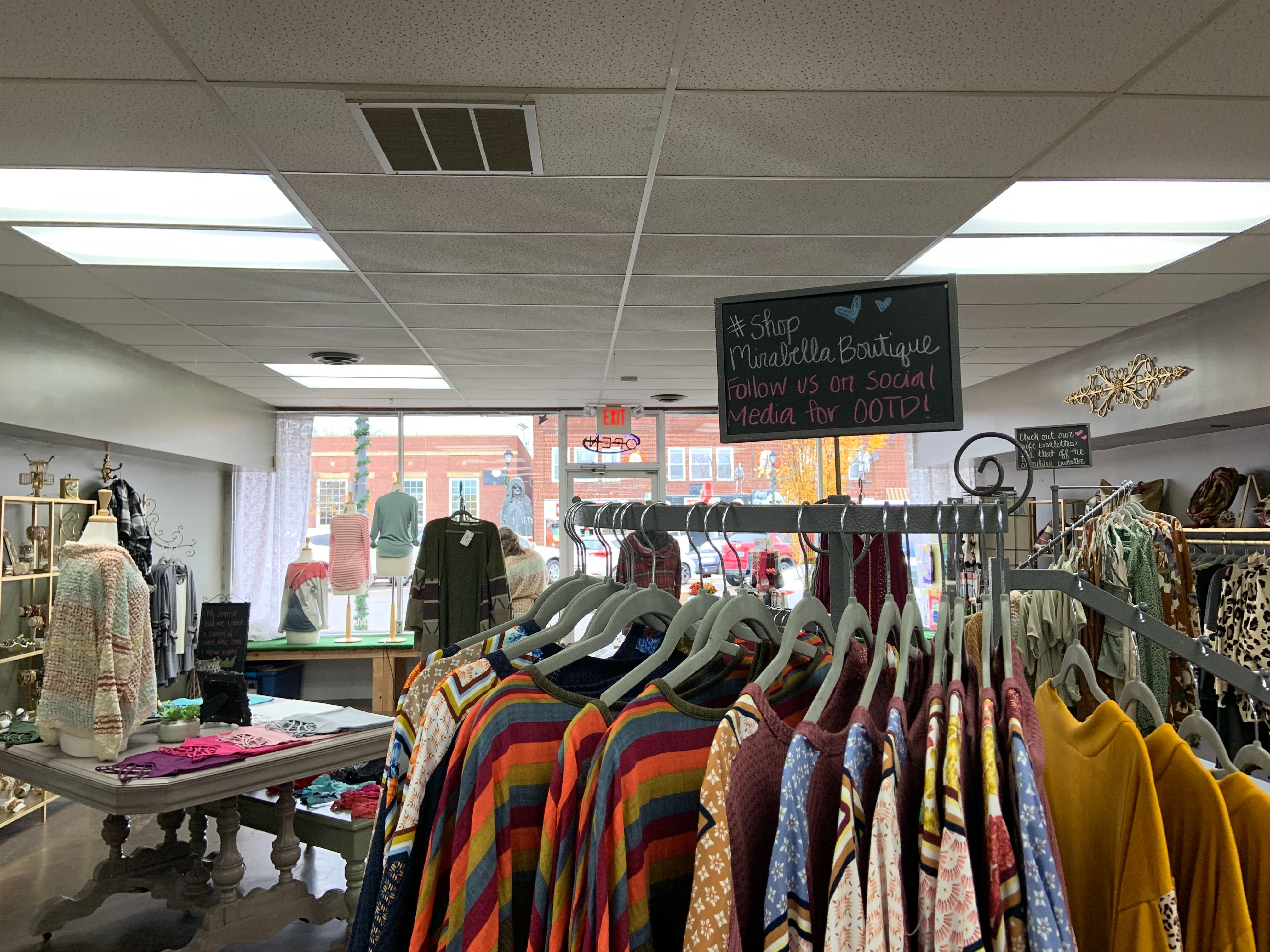 Mirabella Boutique | Photo by Natalie Cunningham | The Wright State Guardian