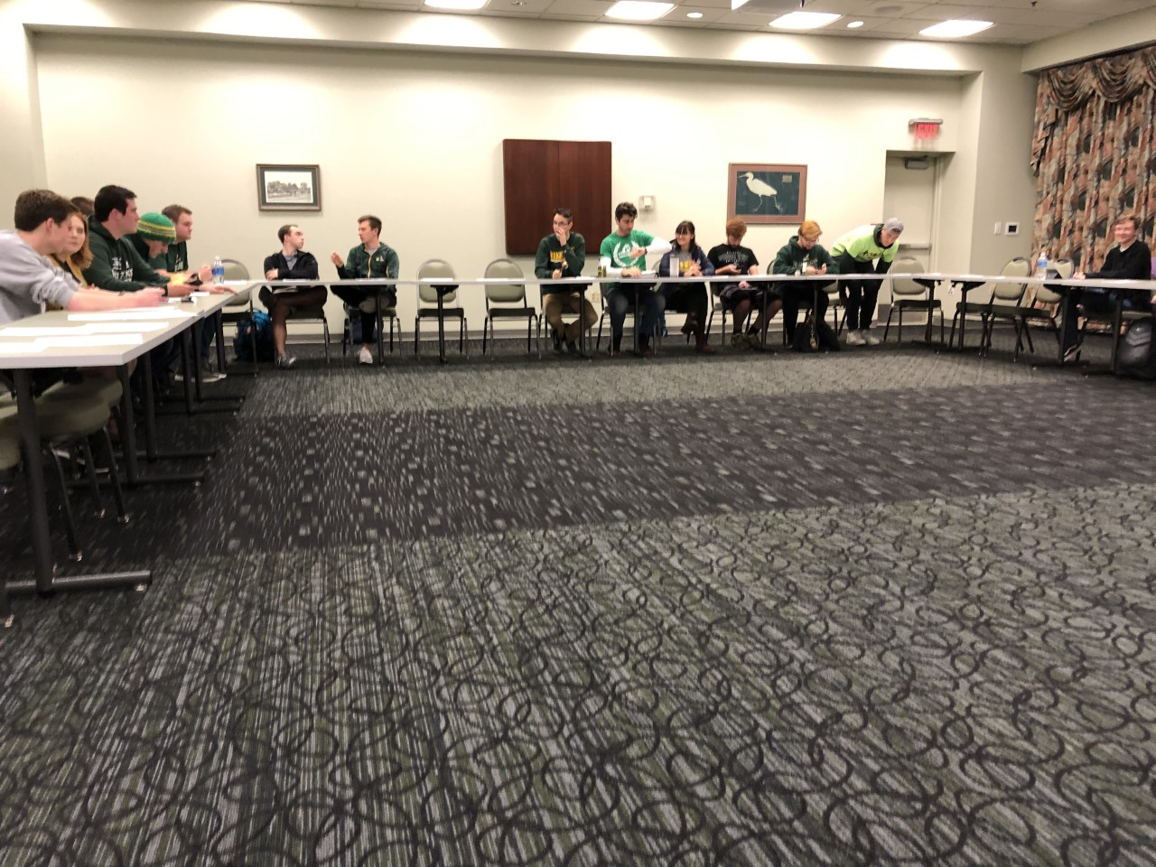 Student Government Association | Photo by Shaddia Qasem | The Wright State Guardian
