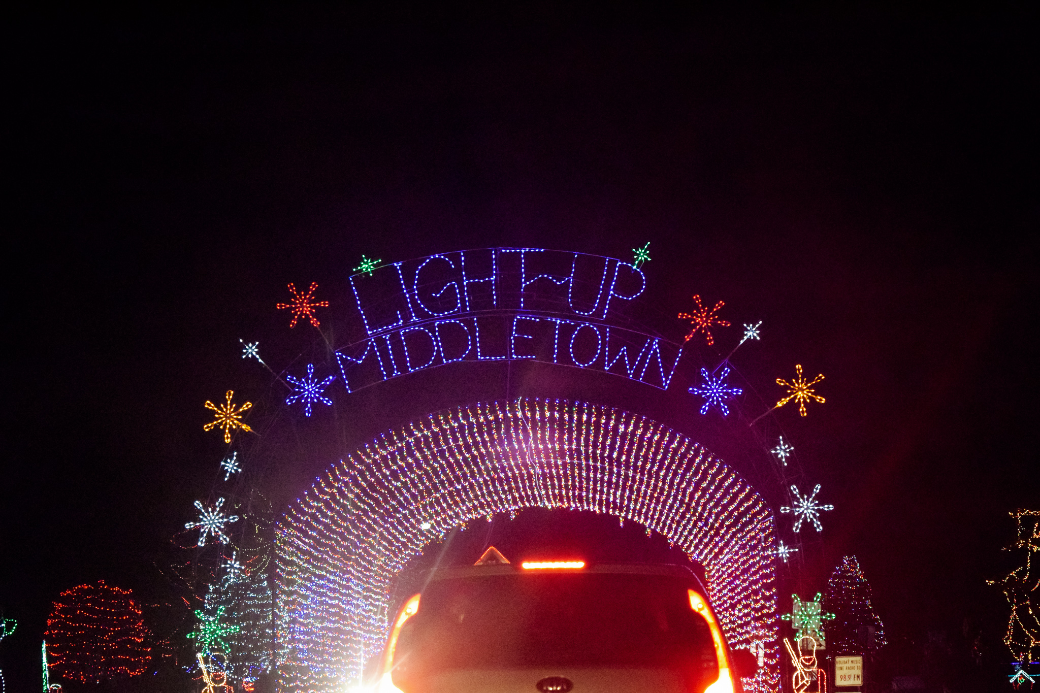 Light Up Middletown | Photo by Jessica Fugett | The Wright State Guardian