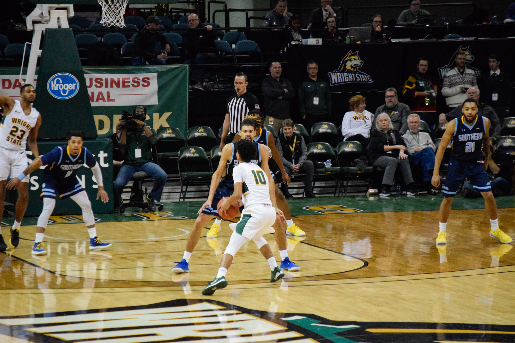 Wright State vs. Southern University Men's Basketball | Photo by Jessica Fugett | The Wright State Guardian