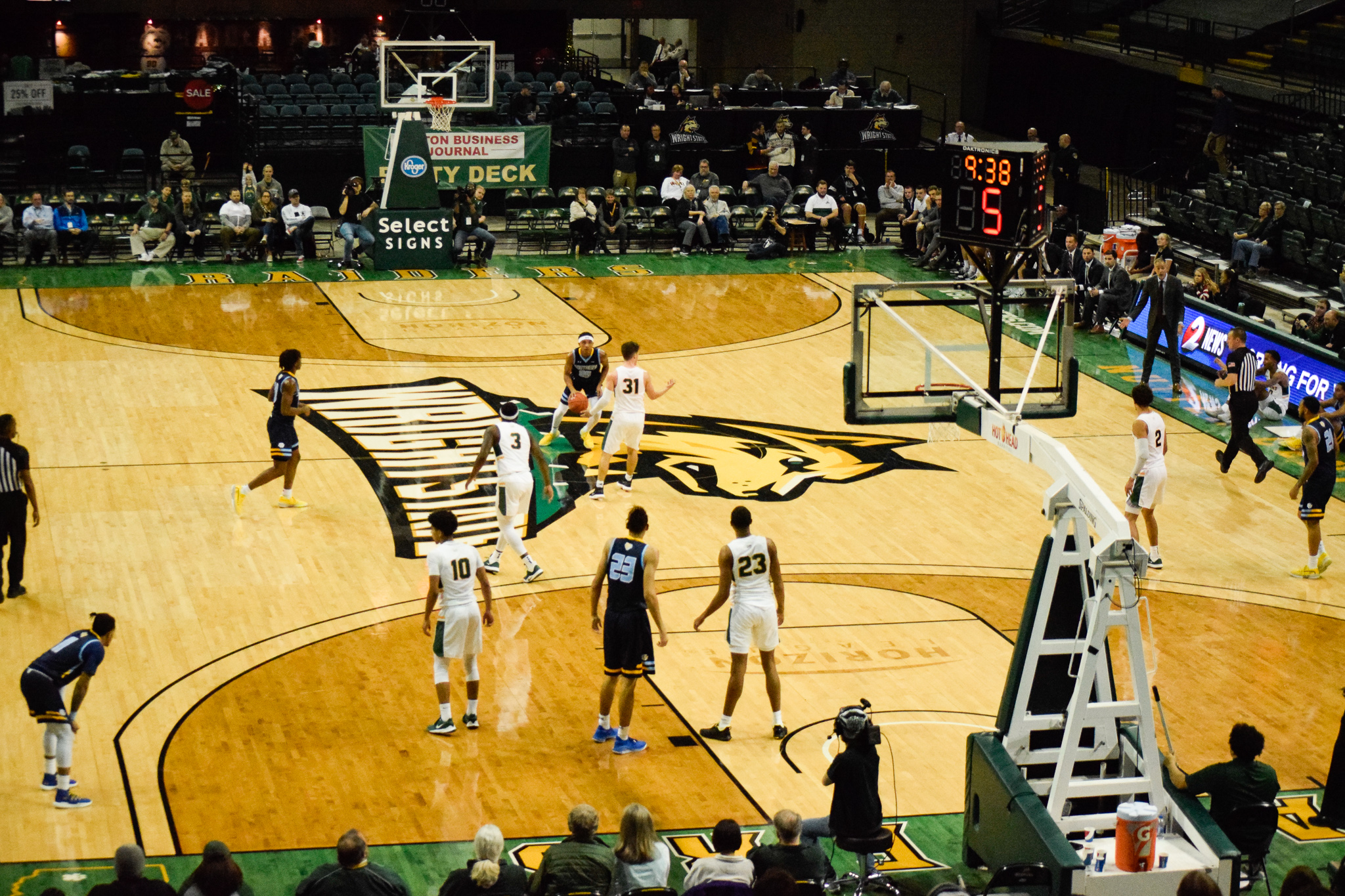 Wright State vs. Southern University Men's Basketball   Photo by Jessica Fugett   The Wright State Guardian