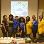 Sigma Gamma Rho Sorority, Inc.: Paw Packages | Photo by Cheyenne Waddell | The Wright State Guardian