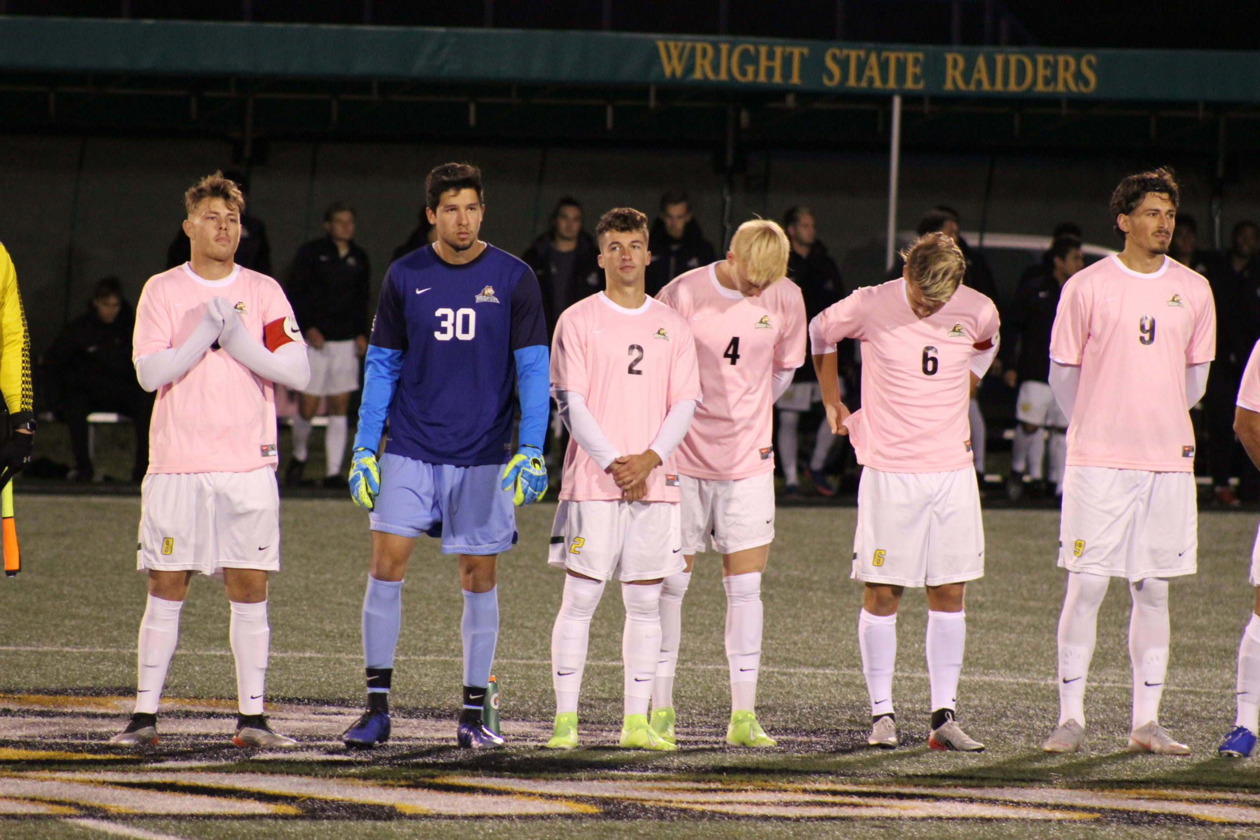 WSU vs. Marshall Mens Soccer | Photo by Daniel Delgado | The Wright State Guardian