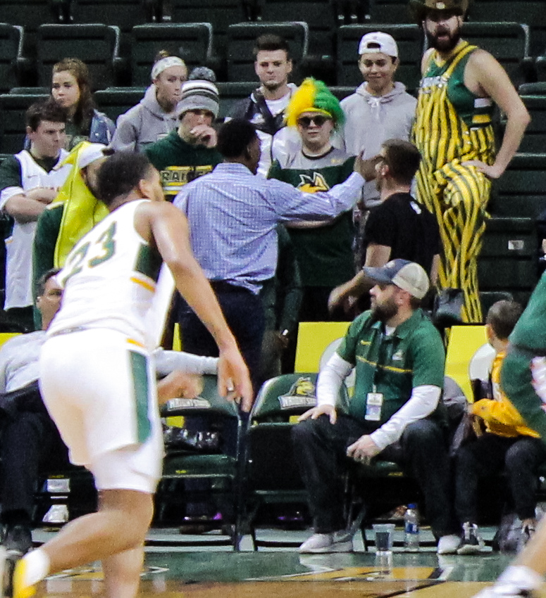WSU vs MVS Incident | Photo by Daniel Delgado | The Wright State Guardian
