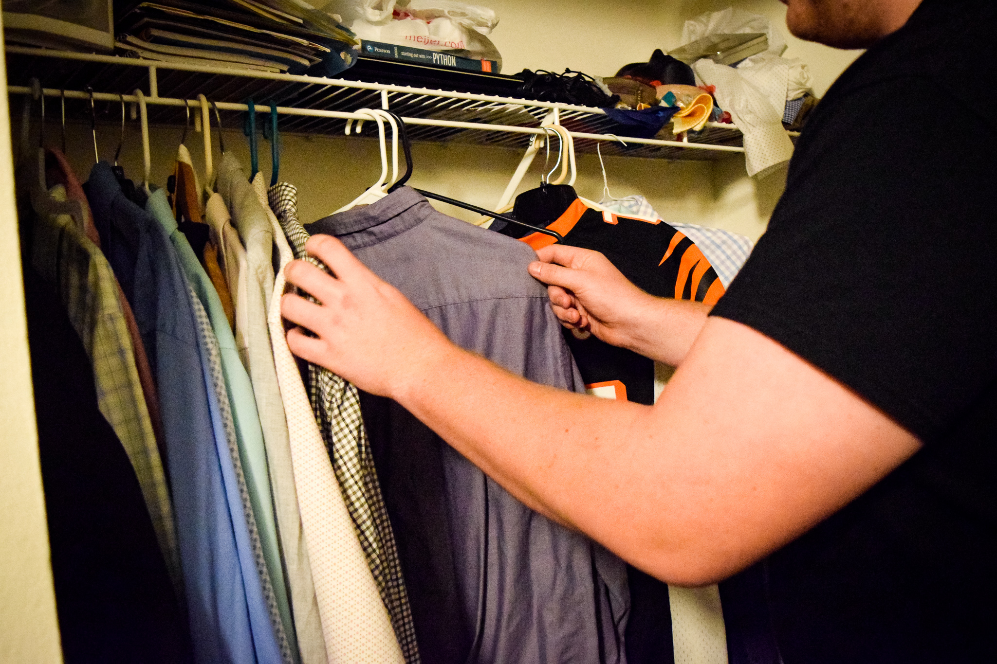 A new wardrobe for a new you | Photo by Jessica Fugett | The Wright State Guardian