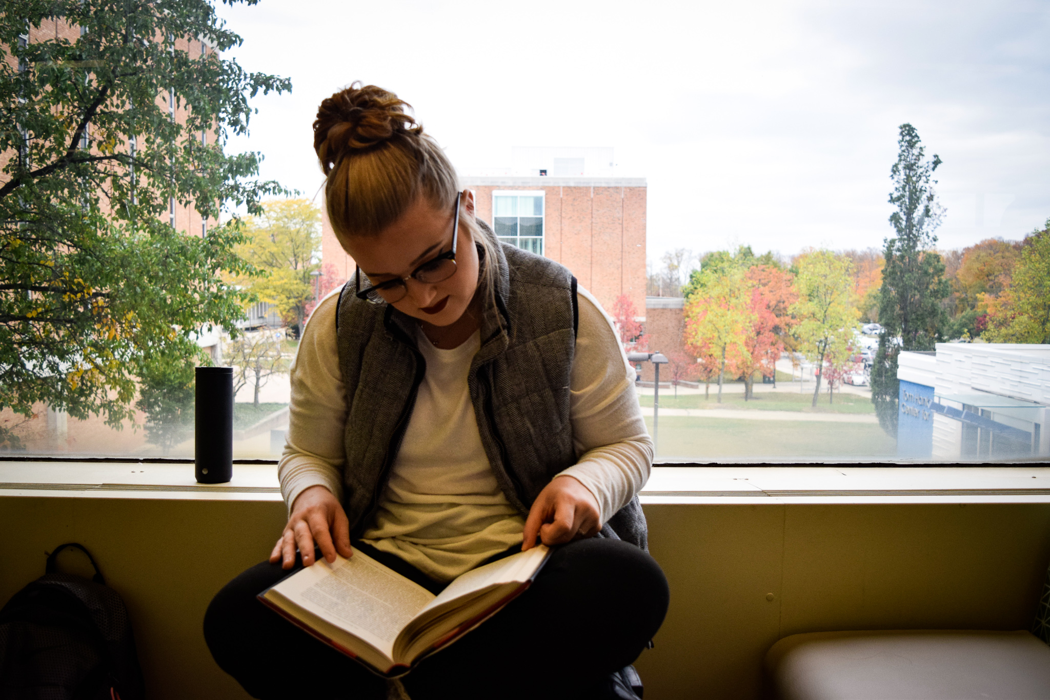 Books to read in the new year | Photo by Jessica Fugett | The Wright State Guardian